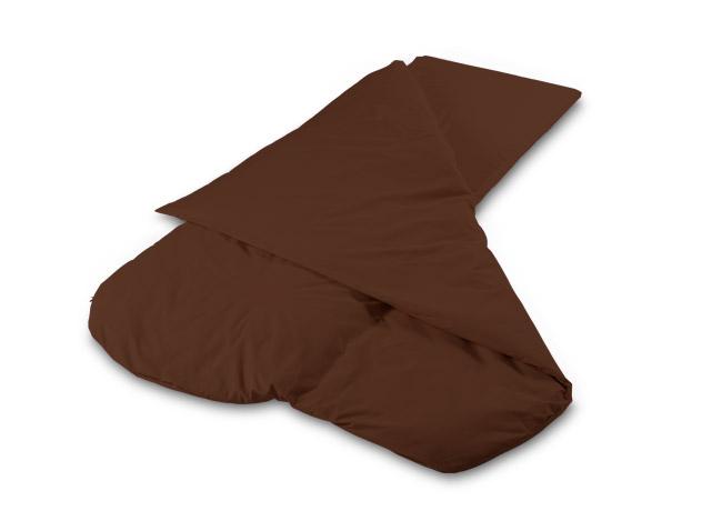 Duvalay Compact Sleeping Bag (Chocolate Brown,  66cm Width)