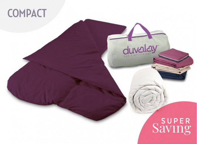 Duvalay Compact Sleeping Bag Bundle
