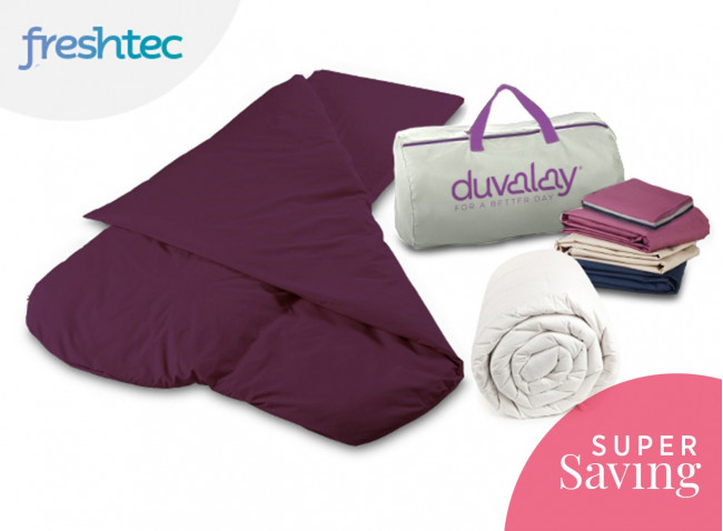 Duvalay Freshtec Cooling Sleeping Bag Bundle