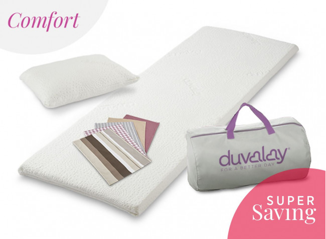 Comfort Travel Topper Bundle