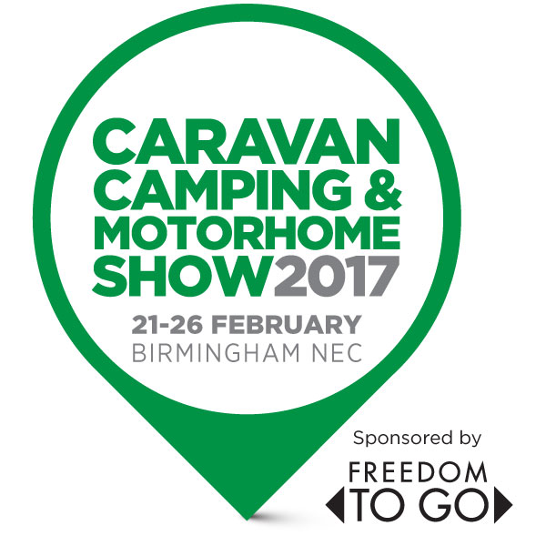 NEC Birmingham Caravan, Camping and Motorhome Show 2017