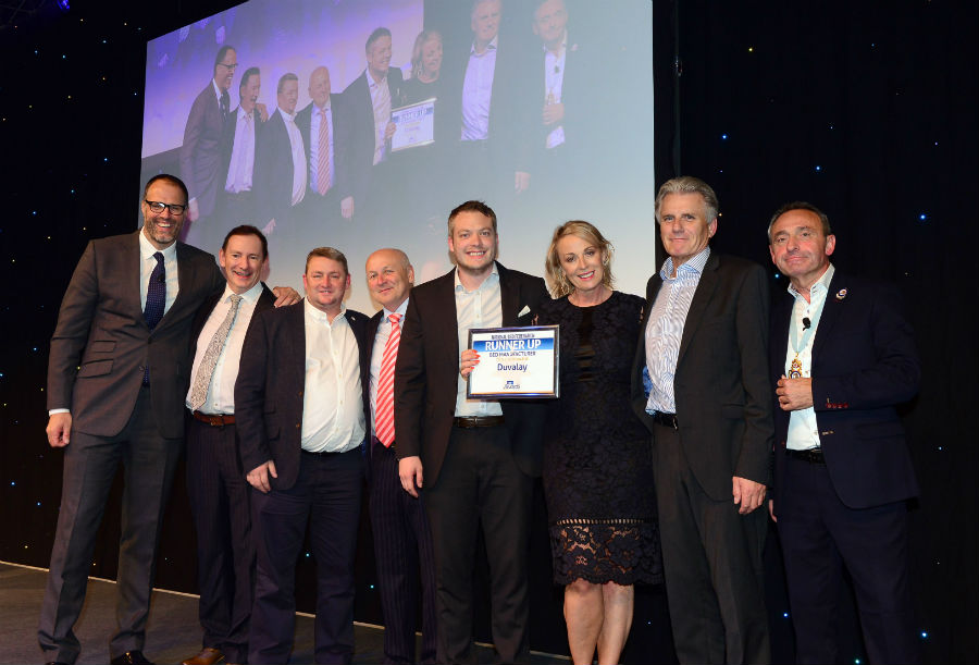 Duvalay does the double at Bed Industry Awards