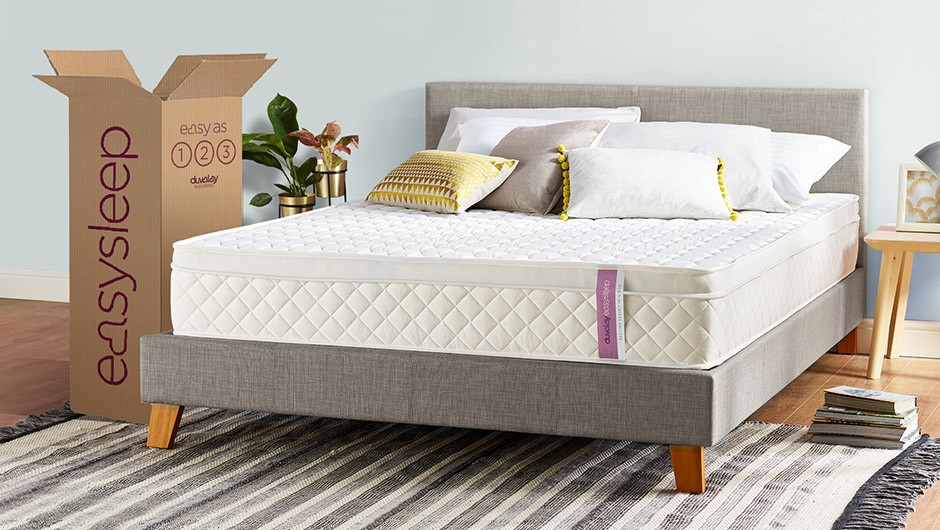 Duvalay launches brand new online mattress range, Easysleep