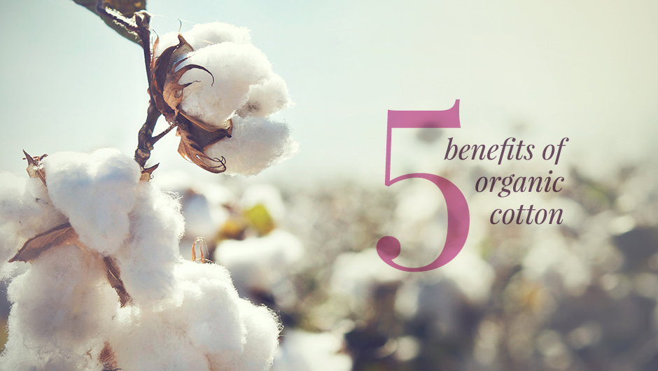 Five benefits of organic cotton