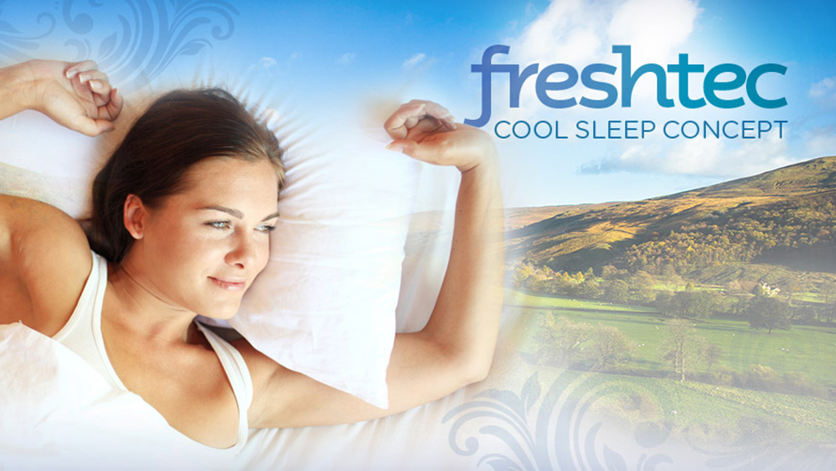 Wake up fresh every day - introducing Duvalay's NEW cool sleep concept!