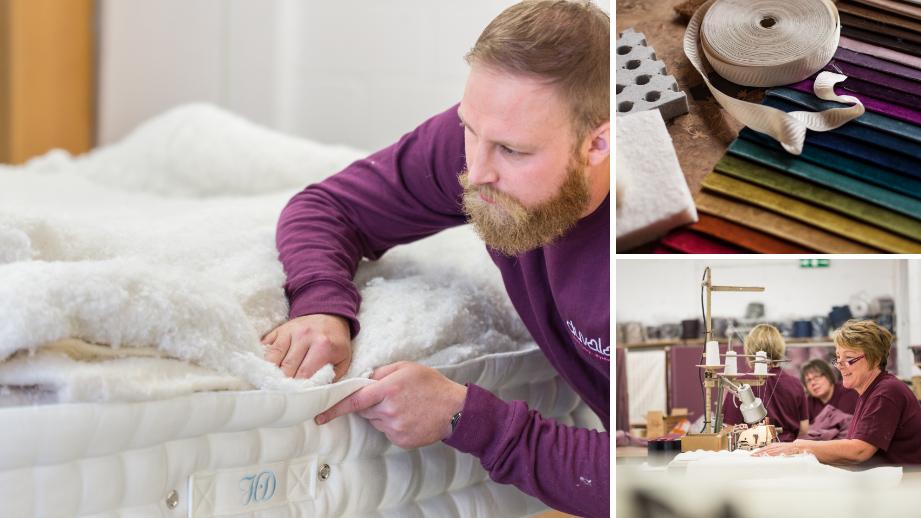 Hand stiched mattress